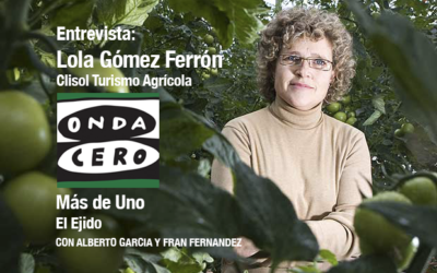 Entrevista en Onda Cero El Ejido