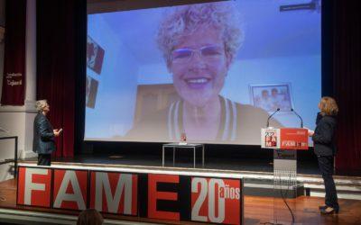 Lola Gómez Ferrón, Premio a la «Trayectoria Empresarial» en el 20 aniversario de FAME.