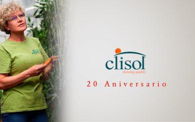 Clisol cumple 20 años